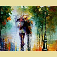 """Картина по номерам PAINTBOY """"Дождь"""""""