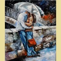 """Картина по номерам PAINTBOY """"Двое под зонтом"""""""