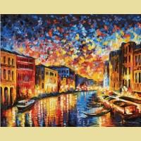 """Картина по номерам PAINTBOY """"Венеция в красках"""""""