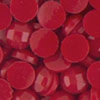 Акриловые стразы неклеевые круглые цв. 0321(0120) 10 гр. т-красный