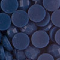 Акриловые стразы неклеевые круглые цв. 0312(3118) 10 гр. синий
