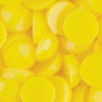 Акриловые стразы неклеевые круглые цв. 0307(3192) 10 гр. яр.желтый