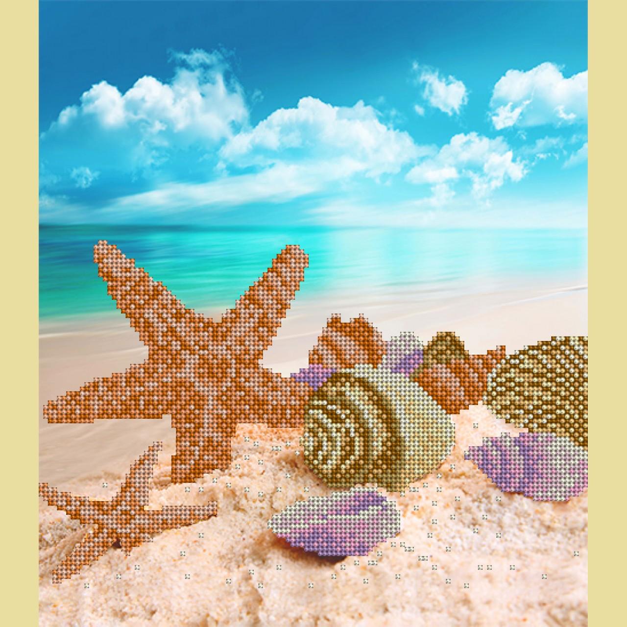 Схемы для вышивания пляж