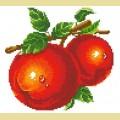 """Набор алмазной вышивки АЛМАЗНАЯ ЖИВОПИСЬ """"Красные яблоки"""""""