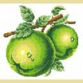 """Набор алмазной вышивки АЛМАЗНАЯ ЖИВОПИСЬ """"Зеленые яблоки"""""""