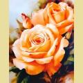 """Набор алмазной вышивки АЛМАЗНАЯ ЖИВОПИСЬ """"Чайные розы"""""""