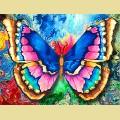 """Набор алмазной вышивки АЛМАЗНАЯ ЖИВОПИСЬ """"Рисунок Бабочки"""""""