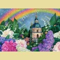 """Набор алмазной вышивки АЛМАЗНАЯ ЖИВОПИСЬ """"В цветах радуги"""""""