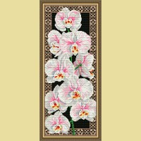 "Картина стразами АРТ СОЛО ""Орхидеи"""