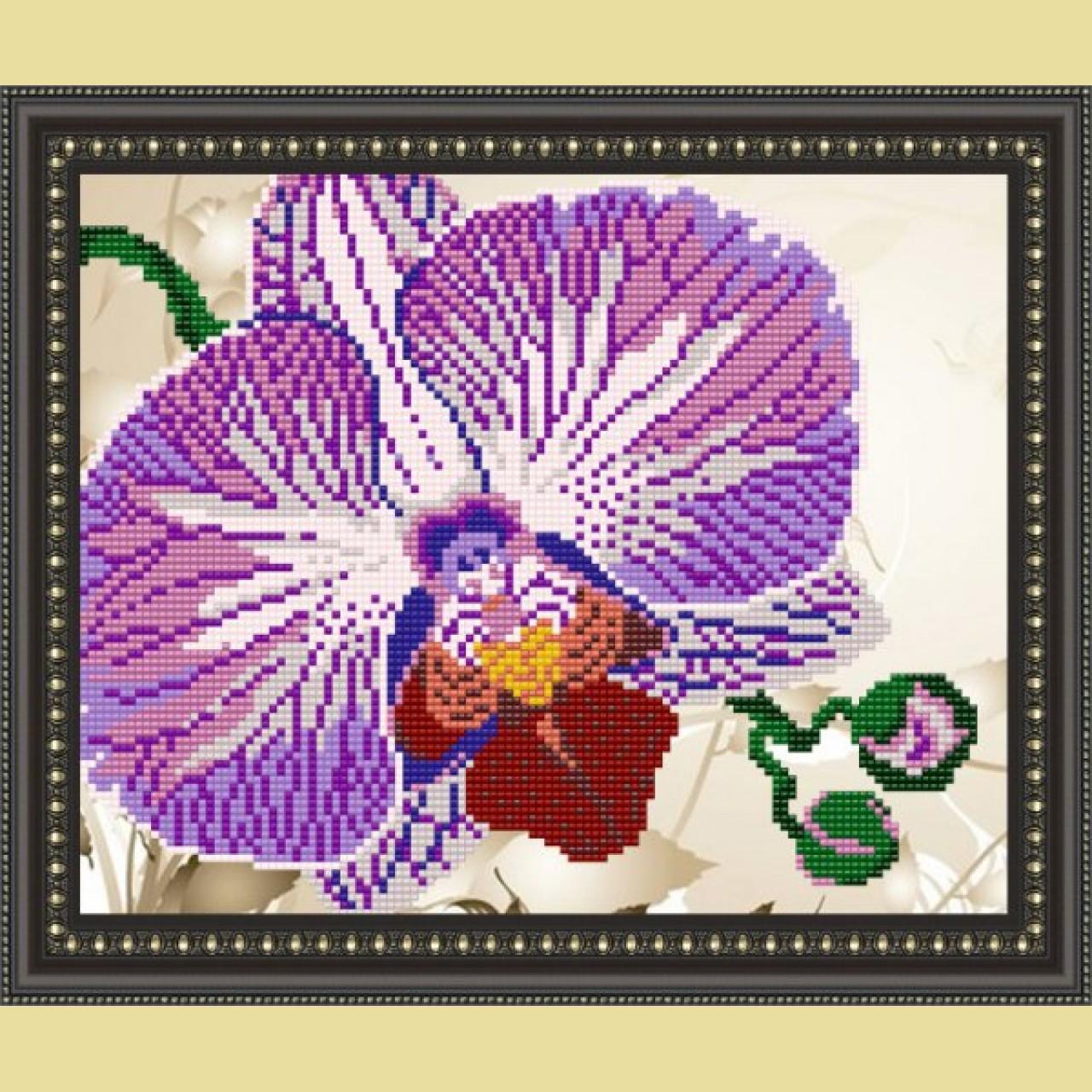 Вышивки схемы с орхидеями 144