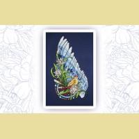 """Набор для вышивания нитками ASTREA  """"Ловец снов. Птица"""""""