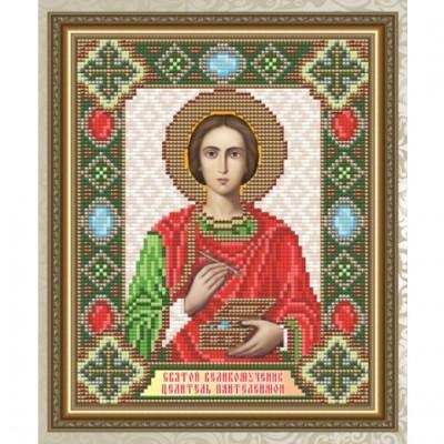 """Картина стразами АРТ СОЛО """"Св. Великомученик целитель Пантелеймон"""""""