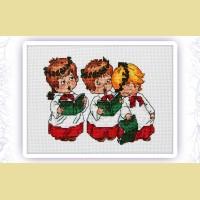 """Набор для вышивания нитками ASTREA  """"Рождественские песни"""""""