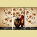 """Набор алмазной живописи АЛМАЗНАЯ ВЫШИВКА """"Триптих орхидеи"""""""