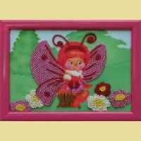 """Схема для вышивания бисером BUTTERFLY """"Бабочка"""""""