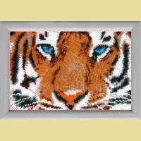 """Схема для вышивания бисером BUTTERFLY """"Глаза тигра"""""""