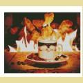 """Набор алмазной живописи АЛМАЗНАЯ ВЫШИВКА """"Чай у камина"""""""