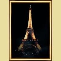 """Набор картины со стразами ЧАРИВНА МИТЬ  """"Эйфелева башня"""""""