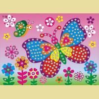 """Мозаика - стикеры COLOR KIT """"Бабочка на лугу"""""""