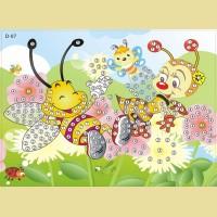 """Мозаика - стикеры COLOR KIT """"Веселые пчелки"""""""