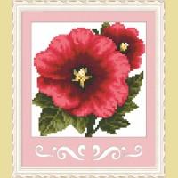 """Мозаичная картина COLOR KIT """"Аленький цветочек"""""""