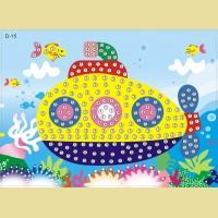 """Мозаика - стикеры COLOR KIT """"Подводная лодка"""""""