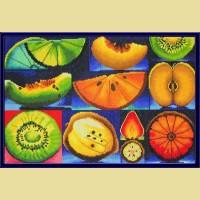 """Мозаичная картина COLOR KIT """"Алмазные фрукты"""""""