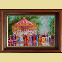 """Мозаичная картина COLOR KIT """"Весенние гуляния"""""""