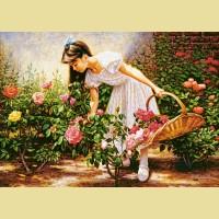 """Пазлы КАСТОР """"В саду роз"""""""