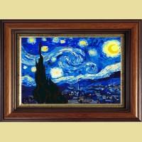 """Картина со стразами COLOR KIT """"Звездная ночь,Ван Гог"""""""