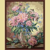 """Картина по номерам COLOR KIT """"Букет лесных цветов"""""""