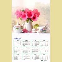 """Алмазная картина-календарь COLOR KIT """"Нежное утро"""""""
