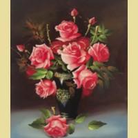 """Набор для вышивания бисером COLOR KIT """"Букет роз"""""""