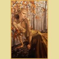 """Набор для вышивания бисером COLOR KIT """"Осенняя фея"""""""