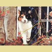 """Набор для вышивания бисером COLOR KIT """"Кот"""""""