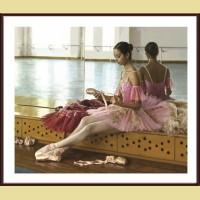 "Картина по номерам COLOR KIT ""Балерина в розовом"""