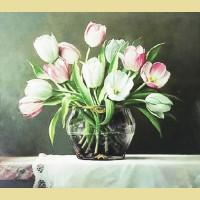 """Набор для вышивания бисером COLOR KIT """"Букет тюльпанов"""""""