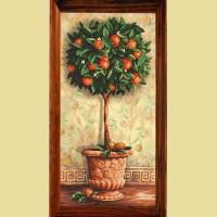 """Мозаичная картина COLOR KIT """"Апельсиновое дерево"""""""