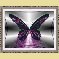 """Мозаичная картина COLOR KIT """"Бабочка"""""""
