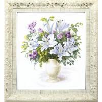 Набор для вышивания Букет с белыми лилиями