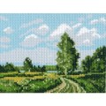 Рисунок на канве Русское поле
