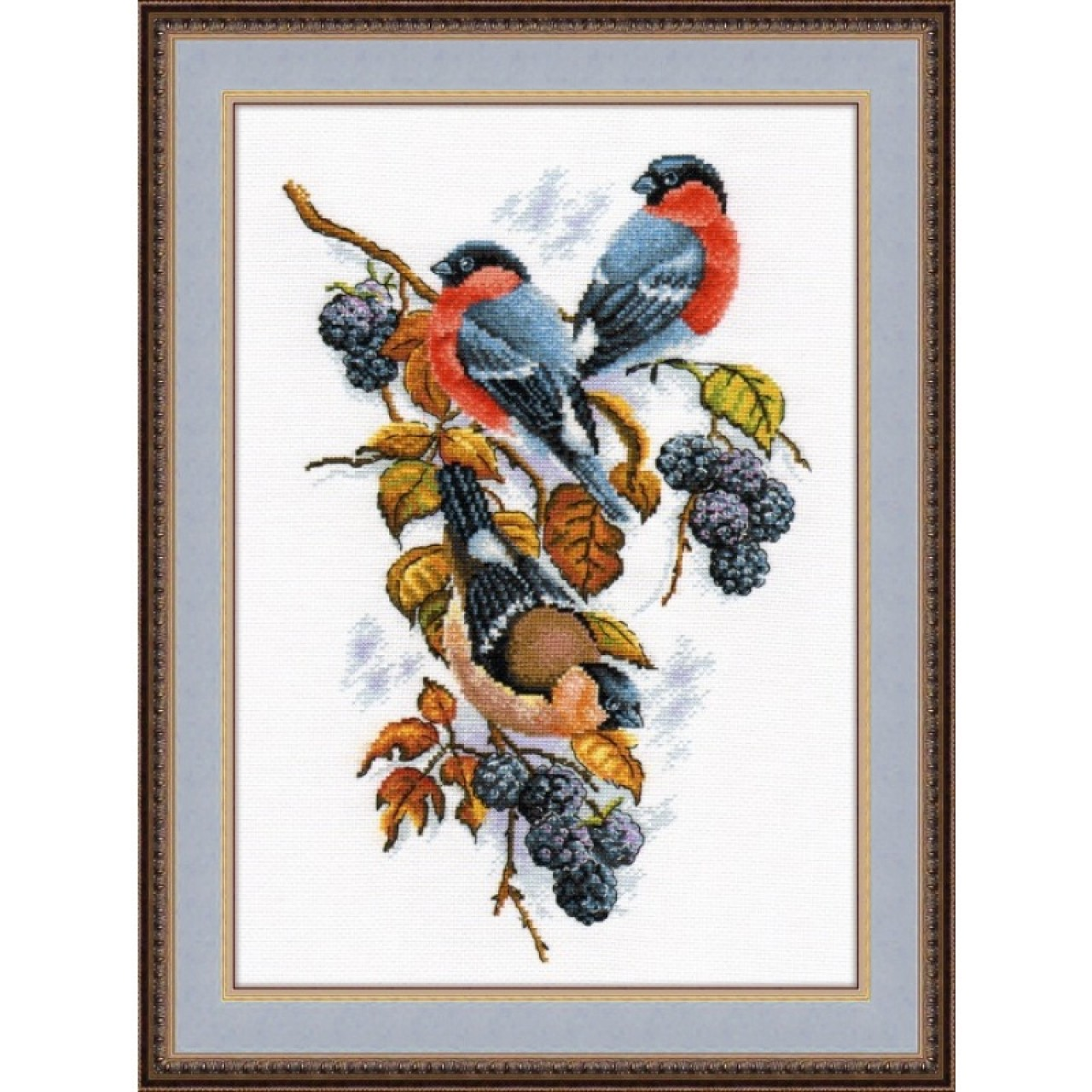 Вышивки крестом наборы птицы 23
